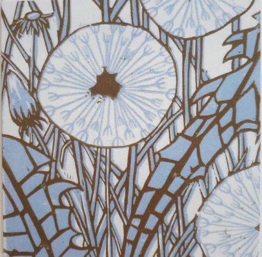 Dandelions card by Rachel Knowles