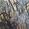 Iris card by Rachel Knowles