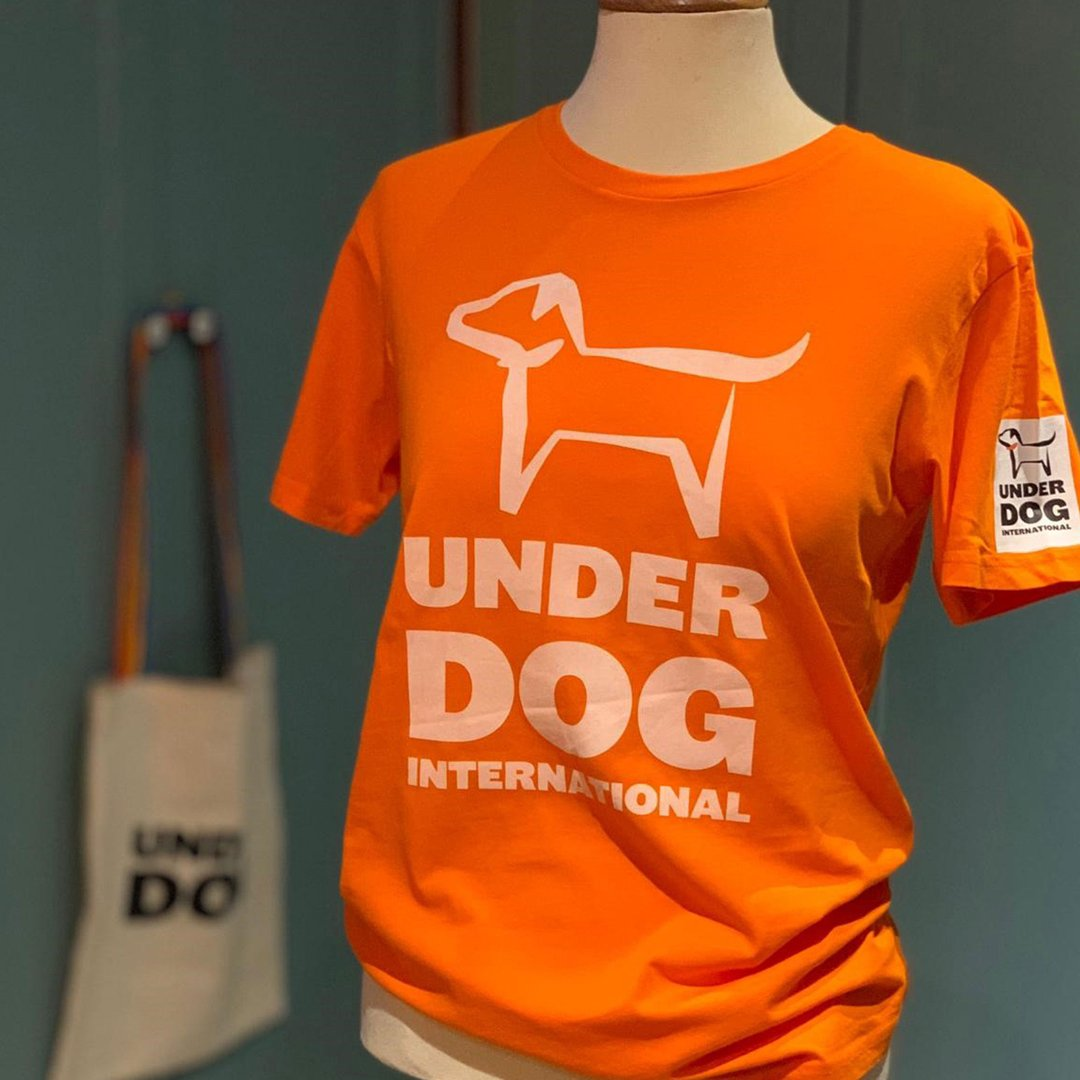 Commercial printing – Underdog T-shirts for the charity Underdog