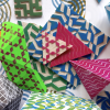 printed paper shapes